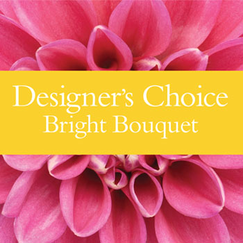 Code: D15. Name: Bright Bouquet. Description: Our designers choice using bright and cheerful flowers made from the freshest on the day. Price: NZD $77.90