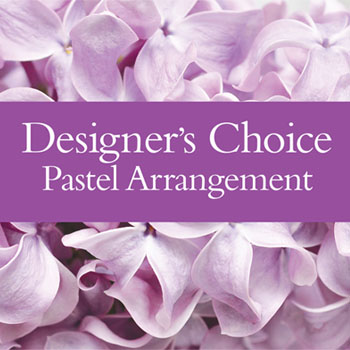 Description: Let us help you out and choose the look. Send A beautiful Arrangement using all Available fresh flowers in the pastel colour palette.