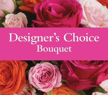 Code: D2. Name: Designers Bouquet. Description: Available in pastel, bright, seasonal or a single colour theme. Price: NZD $77.90