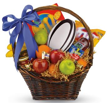 Corporate or personal gift baskets delivered online description celebrate football with a favourite friend family or colleague send a basket negle Image collections